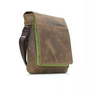 Waterfield Bags - Waterfield Leather Large Muzetto Vertical Messenge